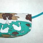 Swans wristlet, $26