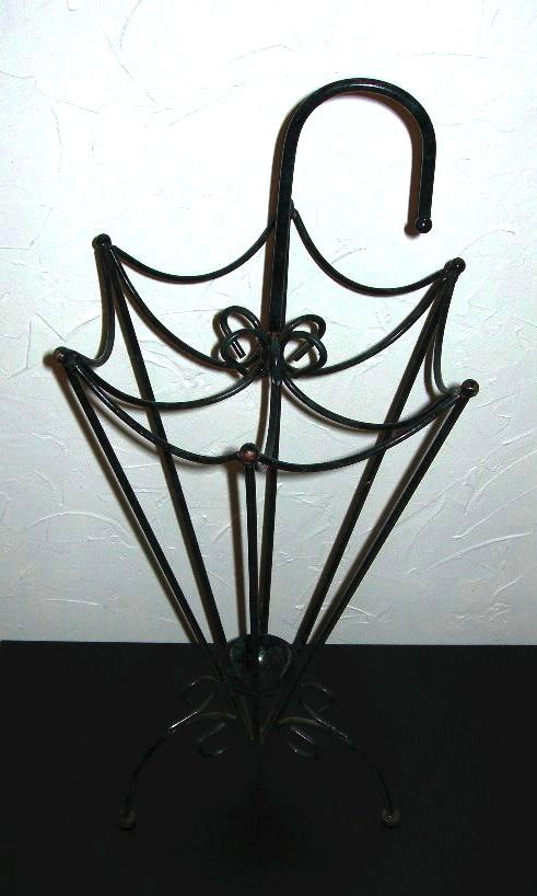 Wrought Iron Umbrella Stand Nvision Cincinnati Handmade