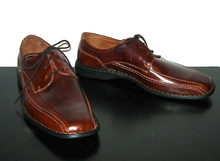 Josef Seibel brown leather shoes