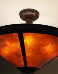 Mica Lamp Co. chandelier