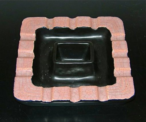 Vintage Gonger ceramic ashtray