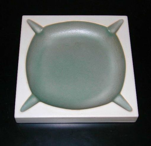 Vintage Hyalyn porcelain ashtray