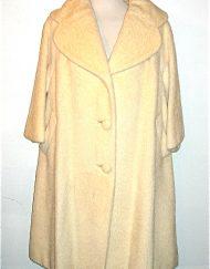 Lilli Ann mohair swing coat
