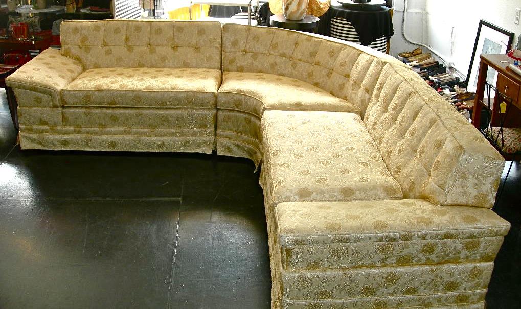 1950s Sectional Sofa Nvision Cincinnati Handmade