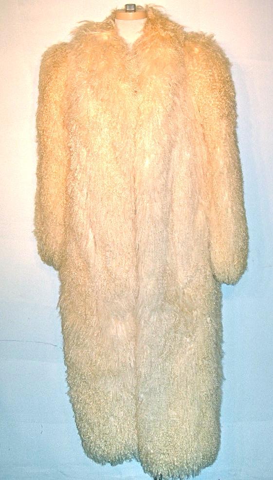 Vintage Tibetan lamb coat