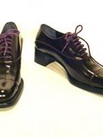 Prada leather Oxfords, size 37.5 / 7 US