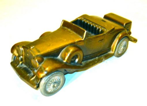 Vintage Banthrico metal 1930 model Cadillac bank