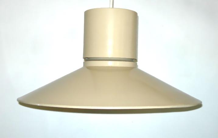 Lightolier metal pendant lamp, $125