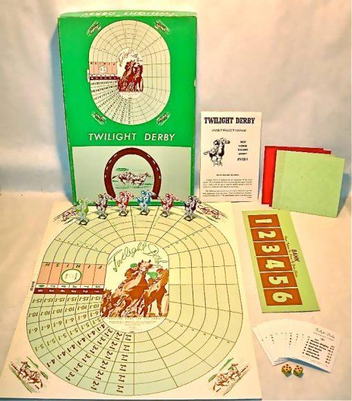 1944 Twilight Derby board game