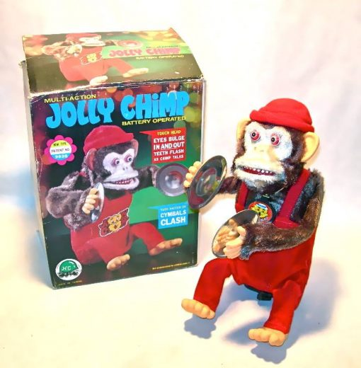 Vintage Jolly Chimp toy