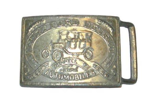 Henry Ford Detroit belt buckle