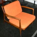 Kofod-Larsen for Selig Danish modern lounge chair, SOLD