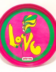 Peter Max Love tray