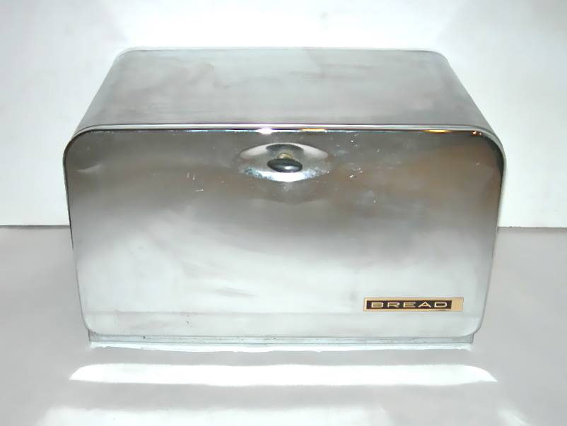 Vintage Lincoln Beautyboxx Chrome Bread Box Nvision Cincinnati Handmade Amp Vintage Clothing