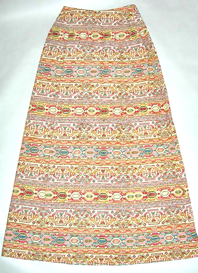 vintage meyer of norwich needlepoint skirt nvision