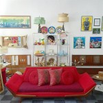 Vintage Rowe gondola sofa in the style of Adrian Pearsall, SOLD