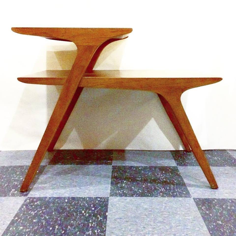 Vintage Drexel Profile side table by John Van Koert, SOLD