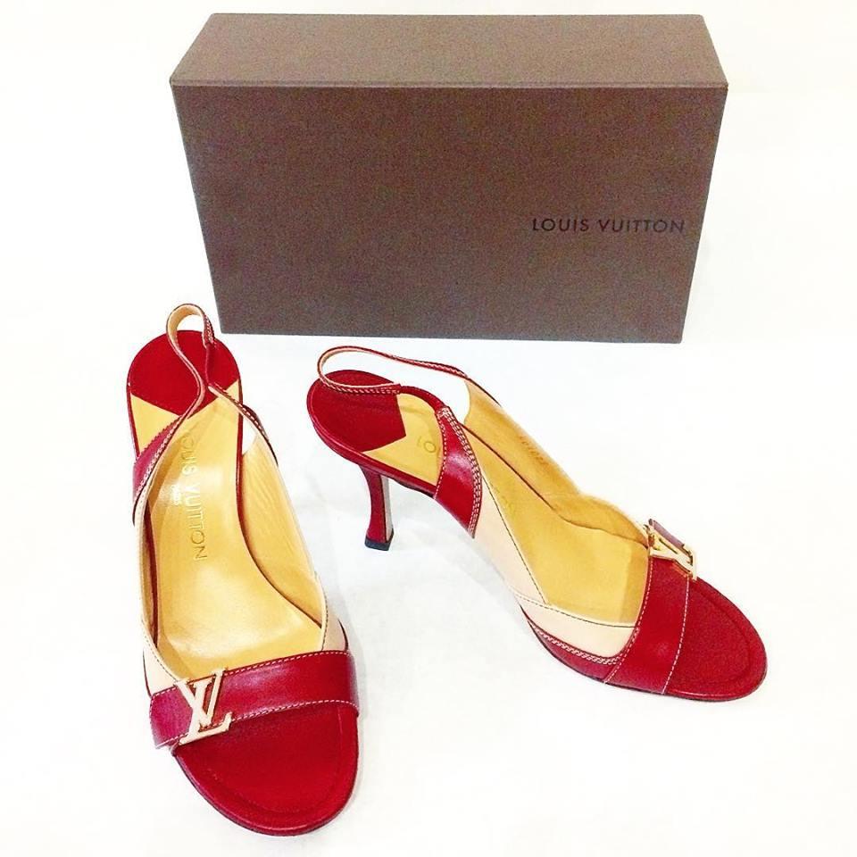 Louis Vuitton heels, size 40/9US