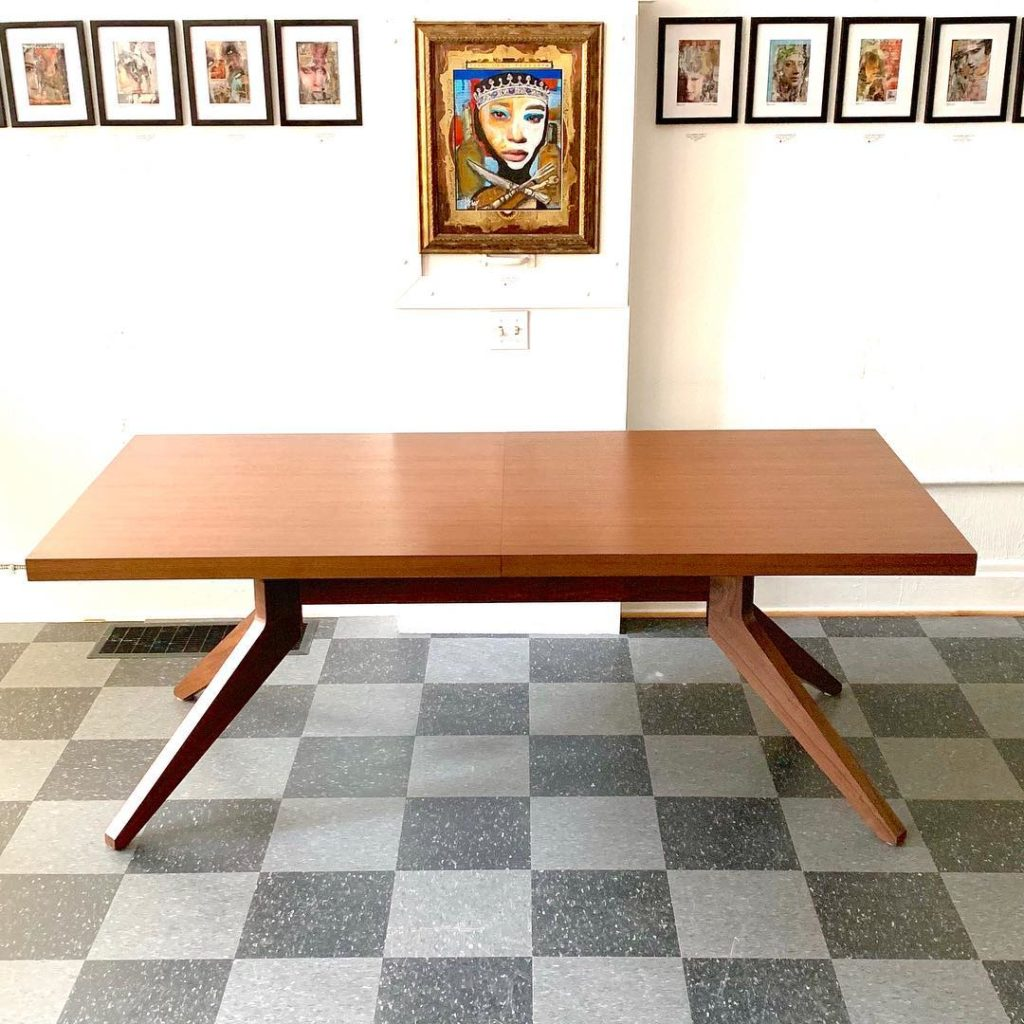 Cross Extension Table, designed by Matthew Hilton for Case, $2000