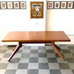 Cross Extension Table, designed by Matthew Hilton for Case, $1200