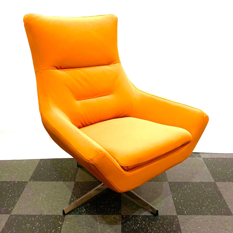Orren Ellis Pilika swivel armchair, $400