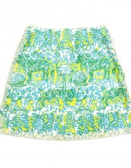 Vintage Lilly Pulitzer skirt, Safari by Zuzek Key West fabric