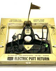1967 Sears Electric Putt Return Set, detail