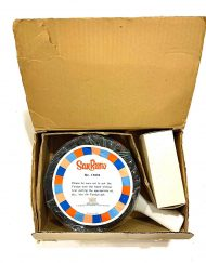 1972 San Remo fondue set, new in the box, detail