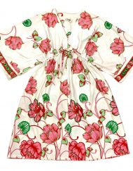 Vintage Dela-Anne Creation Loungewear floral tunic/dress