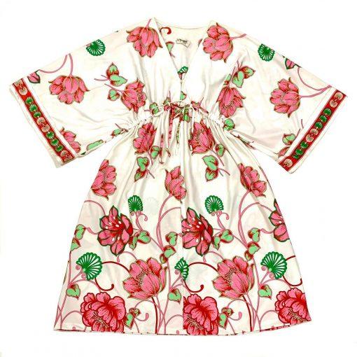 Vintage Dela-Anne Creation Loungewear floral tunic/dress